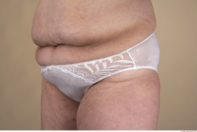 Hips Whole Body Woman Underwear Chubby Panties Studio photo references
