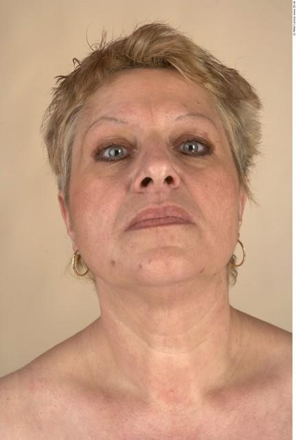 Whole Body Head Woman Chubby Studio photo references