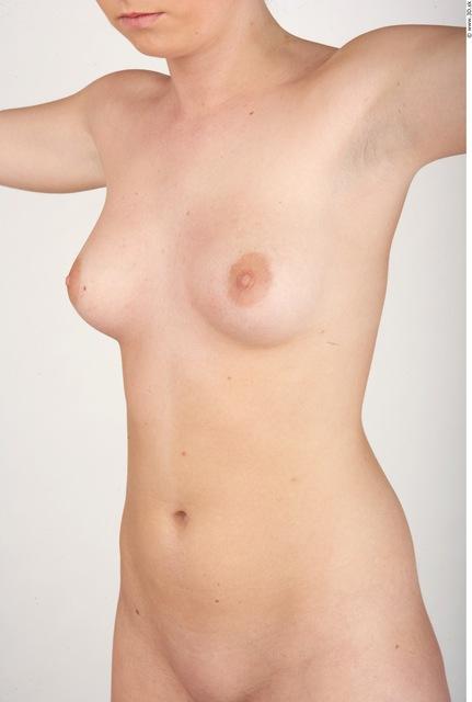 Upper Body Whole Body Woman Nude Slim Studio photo references