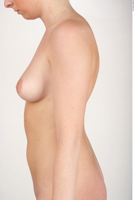 Arm Whole Body Woman Nude Slim Studio photo references