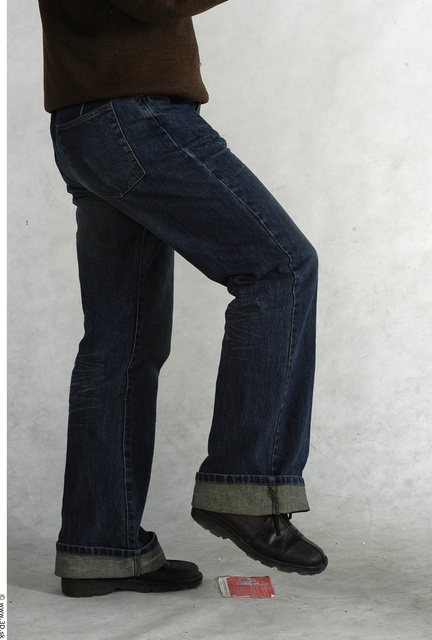 Leg Whole Body Man Animation references Asian Nude Casual Jeans Average Studio photo references