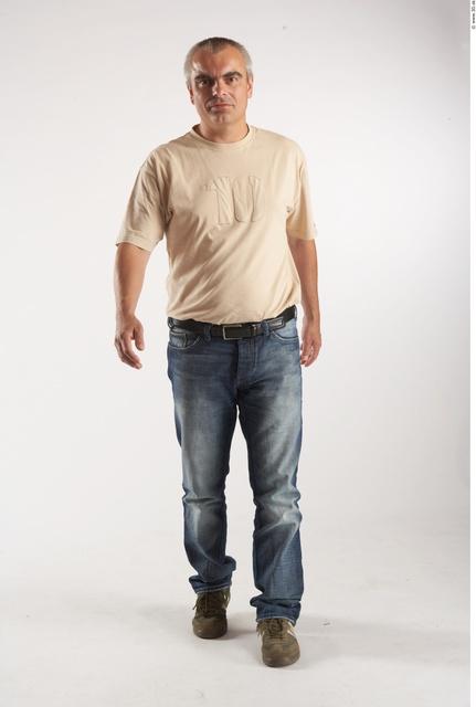 Whole Body Man Animation references White Casual Average