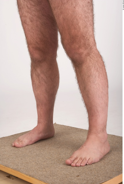 Calf Whole Body Man Underwear Shoes Chubby Studio photo references