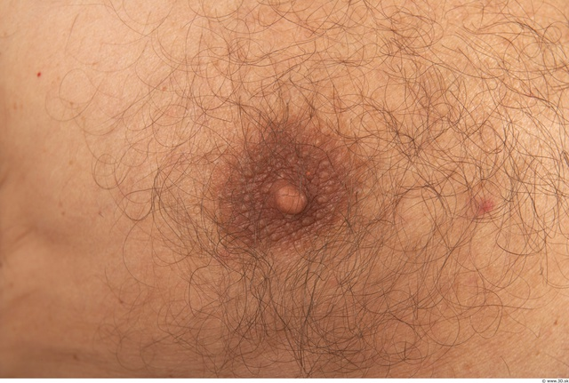 Breast Man White Nude Average
