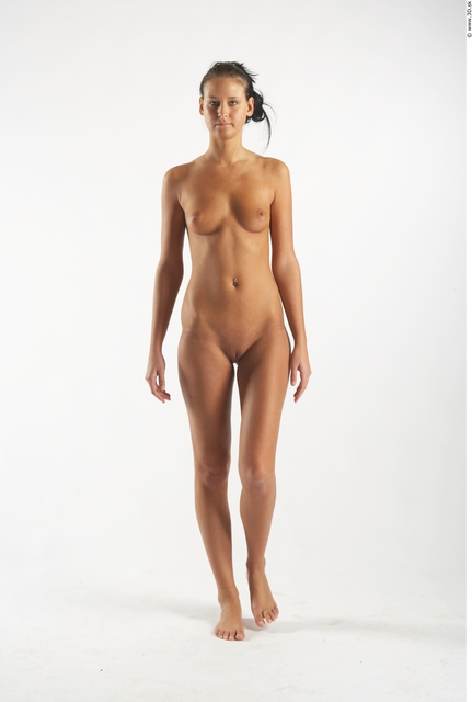 Whole Body Woman Animation references White Nude Slim