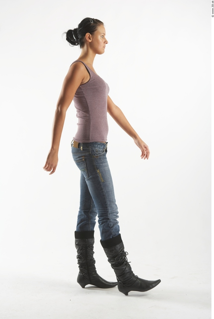 Whole Body Woman Animation references White Casual Slim