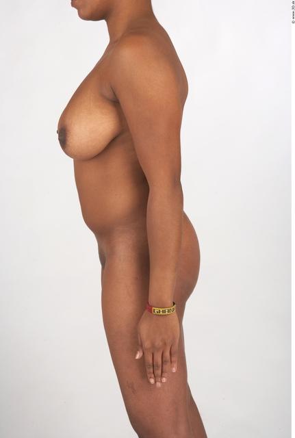 Arm Whole Body Woman T poses Black Tattoo Nude Underwear Windbreaker Chubby Studio photo references