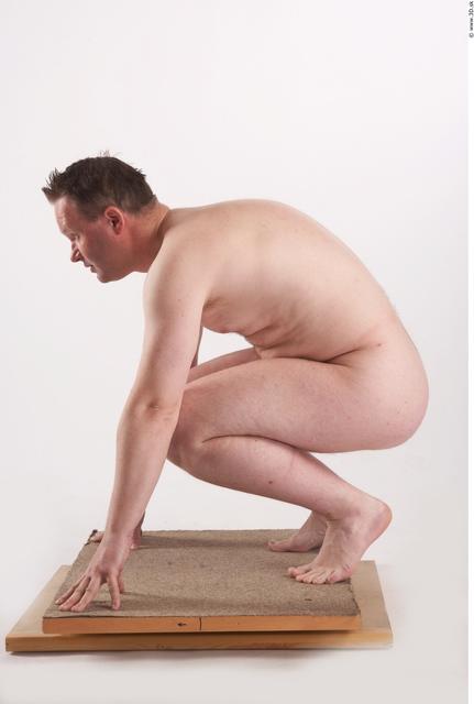 Whole Body Man Other White Nude Average
