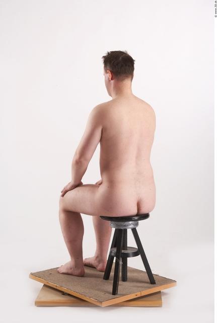 Whole Body Man Artistic poses White Nude Average