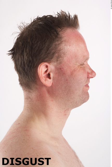 Face Emotions Man White Average