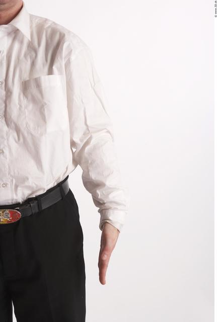 Arm Man Animation references White Formal Shirt Average