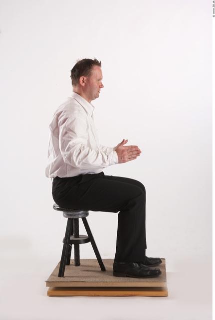 Whole Body Man Artistic poses White Formal Average