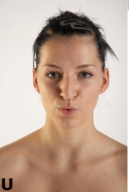 Face Phonemes Woman White Slim