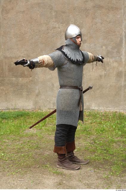 Man White Historical Average Costume photo references