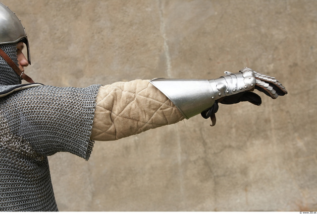 Arm Man White Historical Average Costume photo references