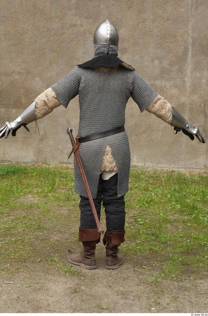 Whole Body Man White Historical Average Costume photo references