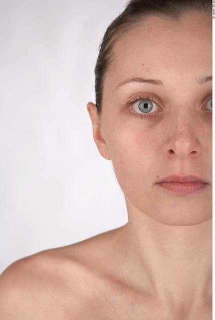 Face Whole Body Woman Animation references Nude Average Studio photo references