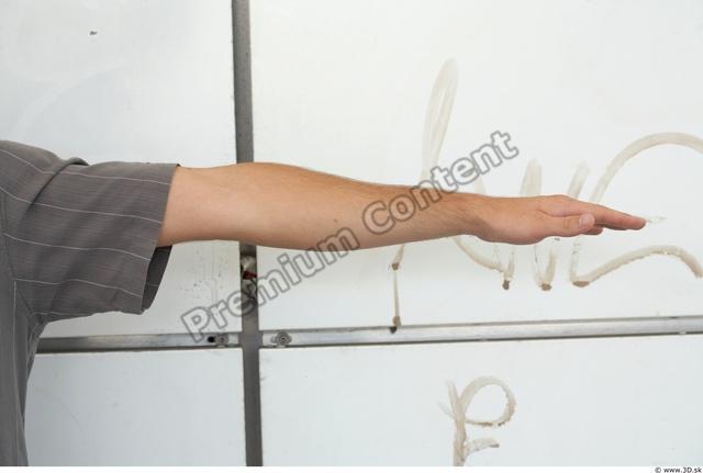 Arm Man White Casual T shirt Average