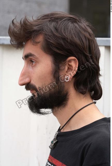 Head Man White Casual Average Bearded