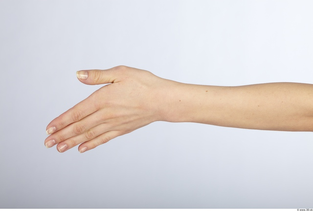 Hand Whole Body Woman Animation references Nude Slim Studio photo references