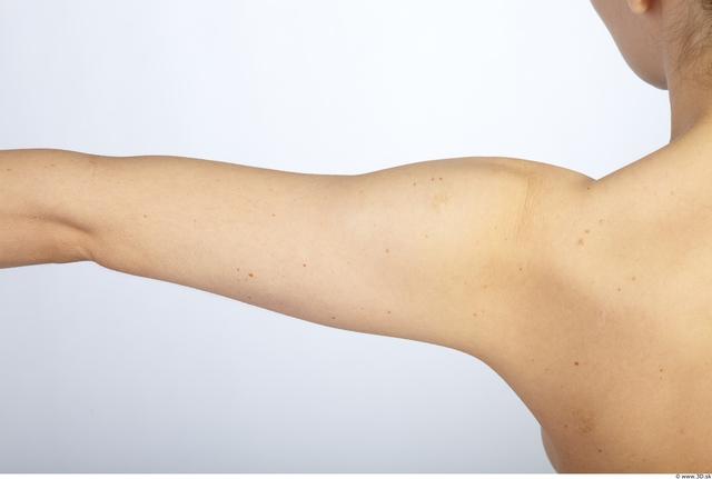 Arm Whole Body Woman Animation references Nude Slim Studio photo references
