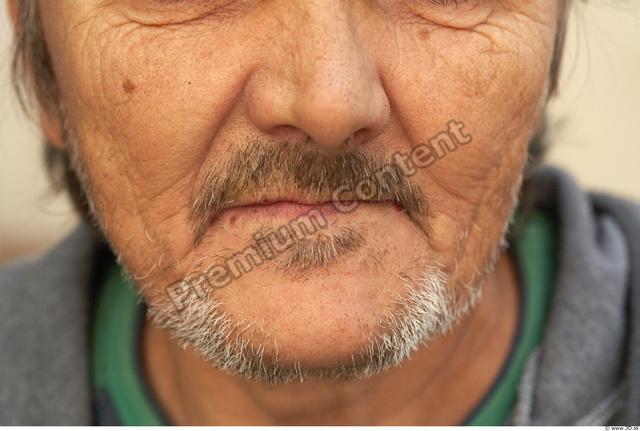 Mouth Man White Army Average Bearded