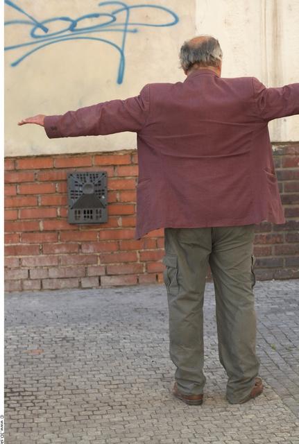 Whole Body Man T poses Average Street photo references