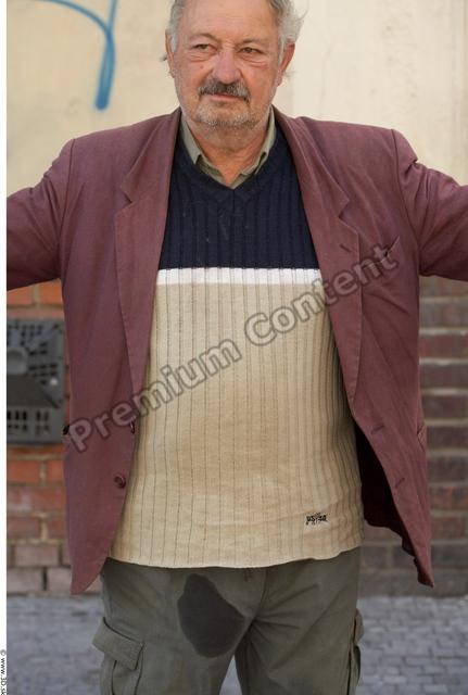 Upper Body Man Average Street photo references