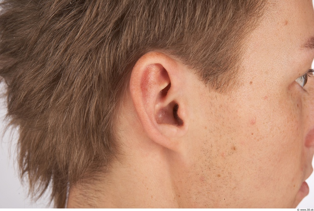 Ear Whole Body Man Animation references Nude Athletic Studio photo references