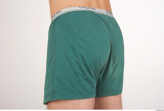 Whole Body Bottom Man Animation references Nude Underwear Slipper Athletic Studio photo references