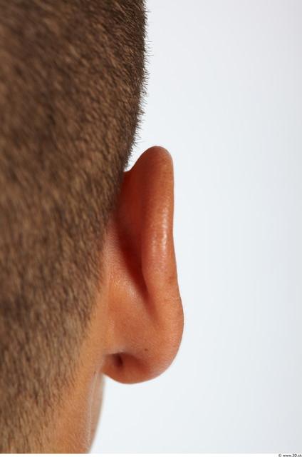 Ear Man Muscular Studio photo references
