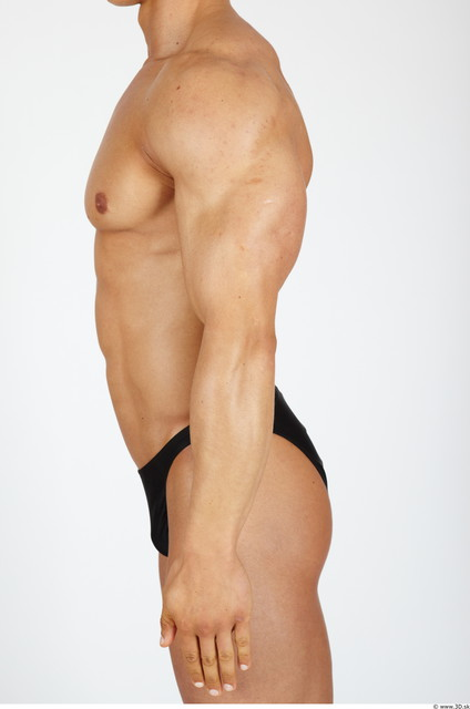 Arm Man Sports Swimsuit Muscular Studio photo references