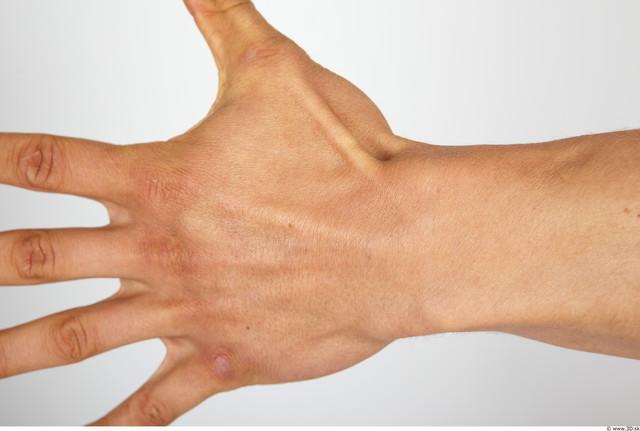 Hand Man Muscular Studio photo references