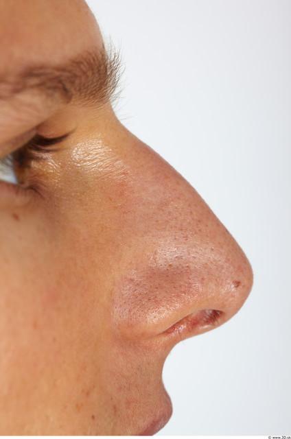 Nose Man Muscular Studio photo references
