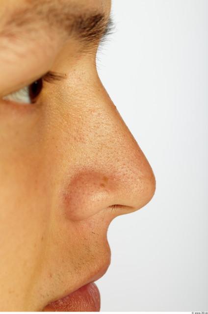 Nose Man Animation references Asian Average Studio photo references