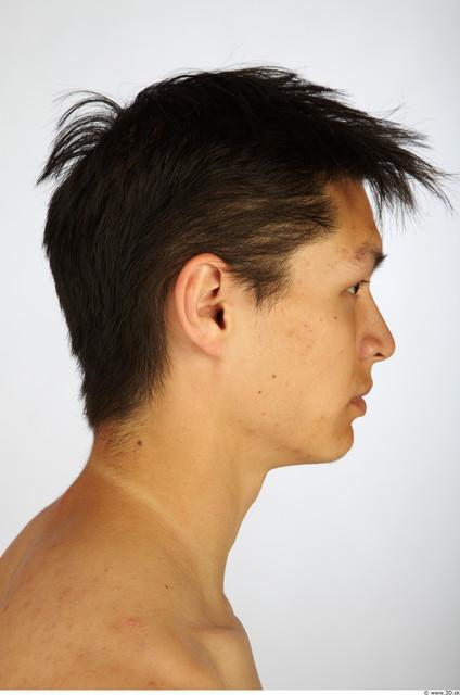 Head Man Animation references Asian Average Studio photo references