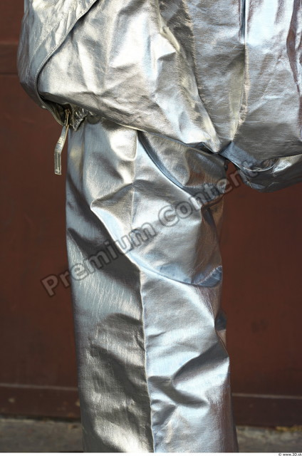 Thigh Man White Uniform Overal Athletic
