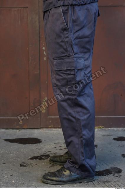 Leg Man White Uniform Pants Athletic