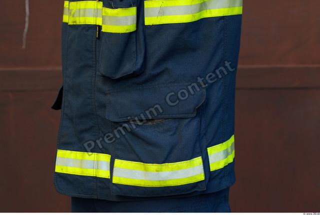 Belly Man White Uniform Jacket Athletic