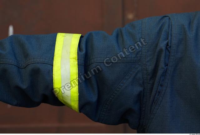 Arm Man White Uniform Jacket Athletic