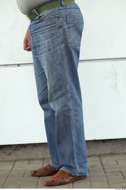 Leg Woman Casual Jeans Overweight Street photo references