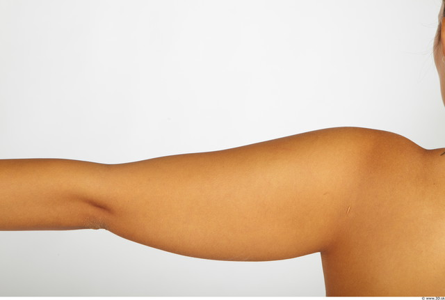 Arm Whole Body Woman Nude Chubby Studio photo references