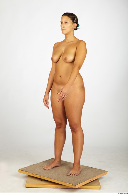 Whole Body Woman Animation references Nude Chubby Studio photo references
