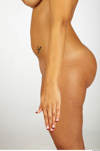 Whole Body Woman Nude Chubby Studio photo references