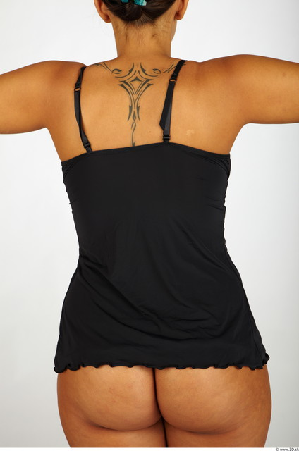 Upper Body Whole Body Woman Tattoo Nude Casual Singlet Chubby Studio photo references