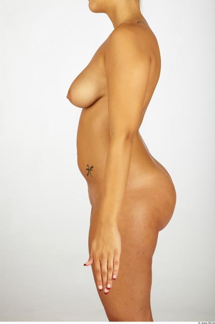 Upper Body Whole Body Woman Nude Chubby Studio photo references