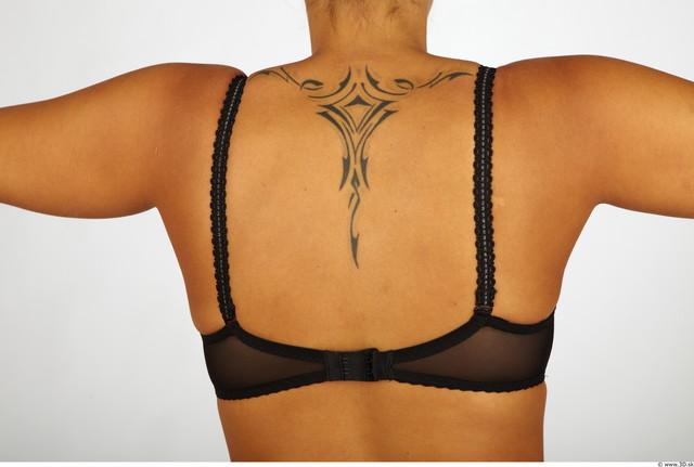 Upper Body Whole Body Woman Nude Underwear Bra Chubby Studio photo references