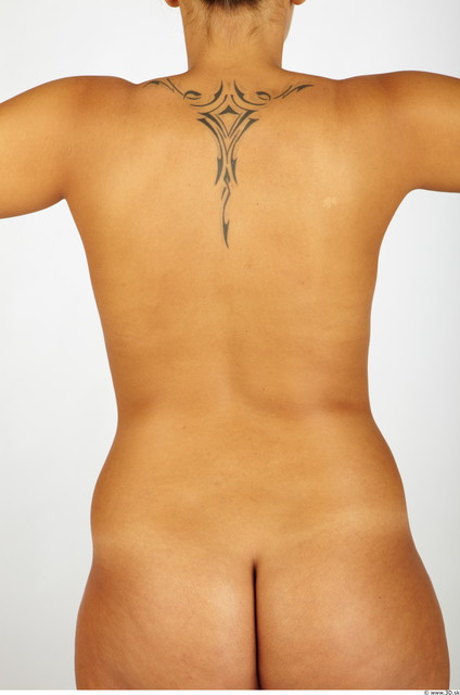 Upper Body Whole Body Woman Tattoo Nude Chubby Studio photo references