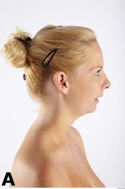Head Phonemes Woman Slim Studio photo references