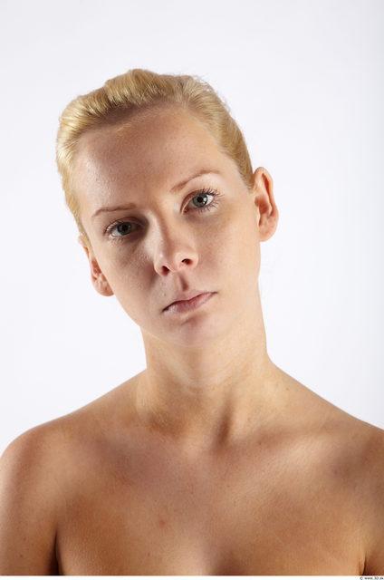 Head Woman Animation references Slim Studio photo references